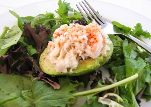 Seafood Stuffed Avocados. Photo by Vanda Lewis