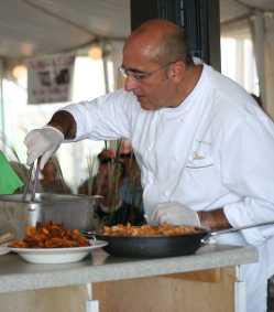 Chef Fabian Botto of Ruddy Ducks Tavern, Morehead City.