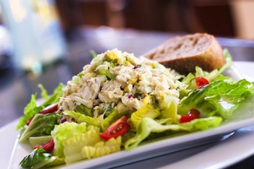 Crab Salad. Photo by Vanda Lewis