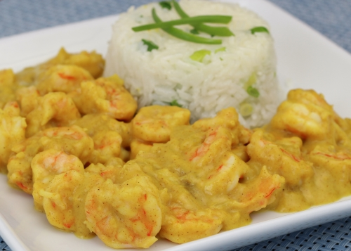 Shrimp Curry. Photo by Vanda Lewis