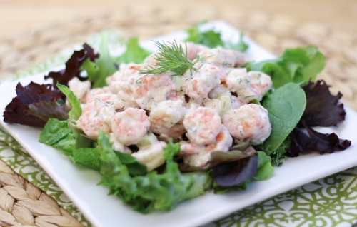 Shrimp Salad with Dill. Photo by Vanda Lewis