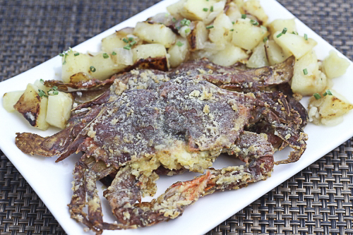 Baked Soft-Shell Crabs. Photo by Vanda Lewis