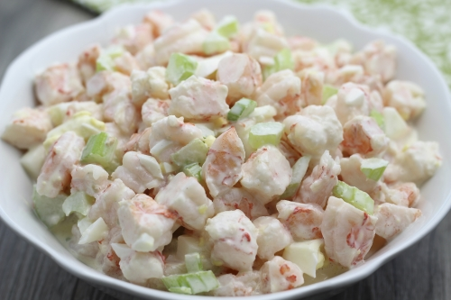 Shrimp Salad. Photo by Vanda Lewis